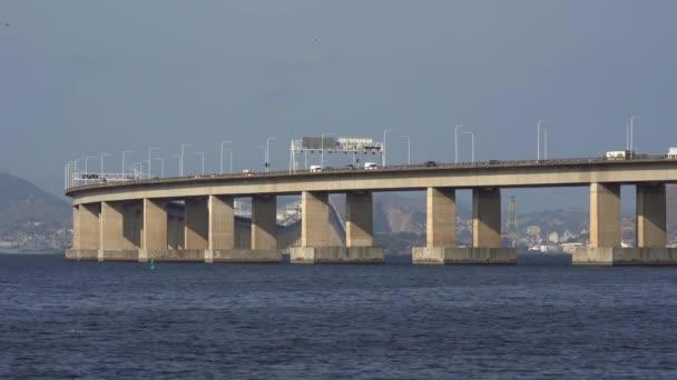 Bridge Across the Sea. Presidente Costa e Silva Bridge, popularly known as Rio-Niteroi Bridge.