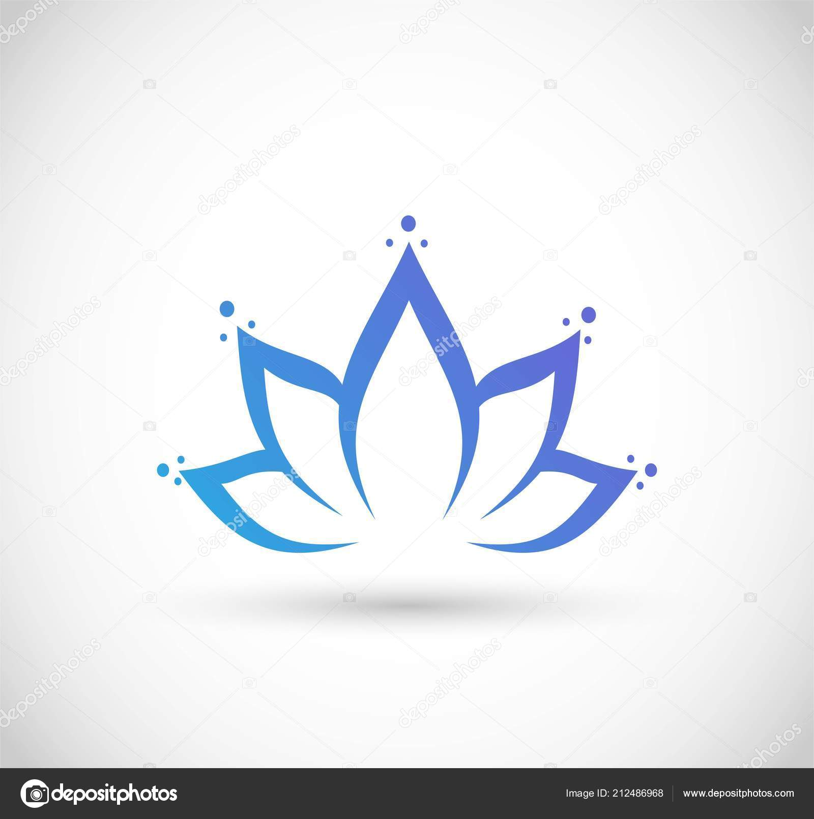 Lotus Flower Text Icon Flowers Healthy
