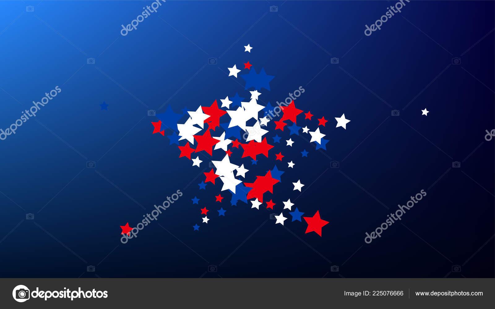Kolory Flagi Amerykańskiej Dzień Niepodległości Usa Tło