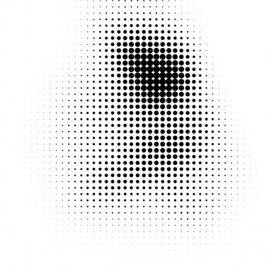Abstract halftone texture. Monochrome black and white background for business cards, labels, icons, icons. Futuristic wave pattern vector pop art poster