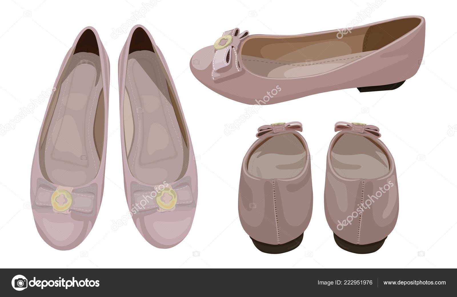 Disegni Di Ballerine Da Disegnare : Illustrazione vettoriale ballerine colore rosa polveroso look alla