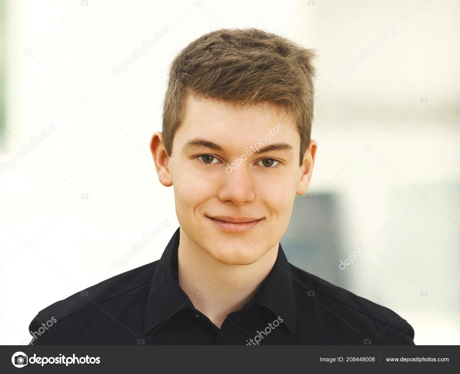 Boy face portrait   Handsome Teenager Boy Face Portrait