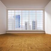 Prázdnou obývací pokoj, 3d obrázek