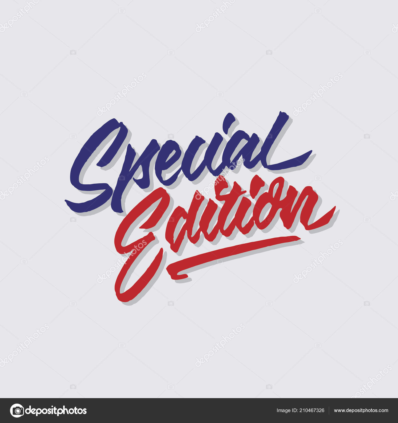 Specjalna Edycja Strony Napis Typografia Sprzedaży