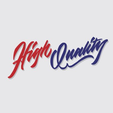 high quality hand lettering typography sales and marketing shop store signage poster