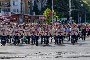 Sofia, Bulgaria - 05.09.2019 - Lulin residential complex feast day