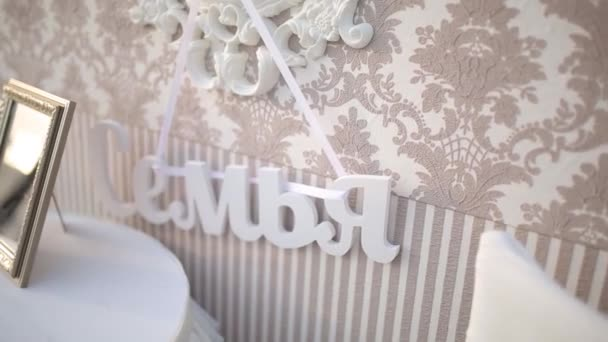Wedding Plastic Letters Decorations For The Bride Bijouterie