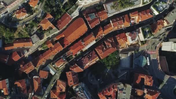Střechy a bytovek v Monaco Monte Carlo city město Francie s součástí moře přístav lodí a kasino