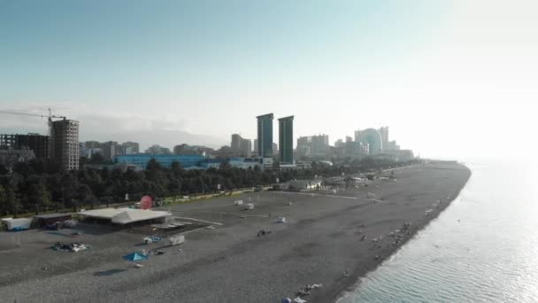 Landscapes of the city of Batumi in summer Georgia by the Black Sea