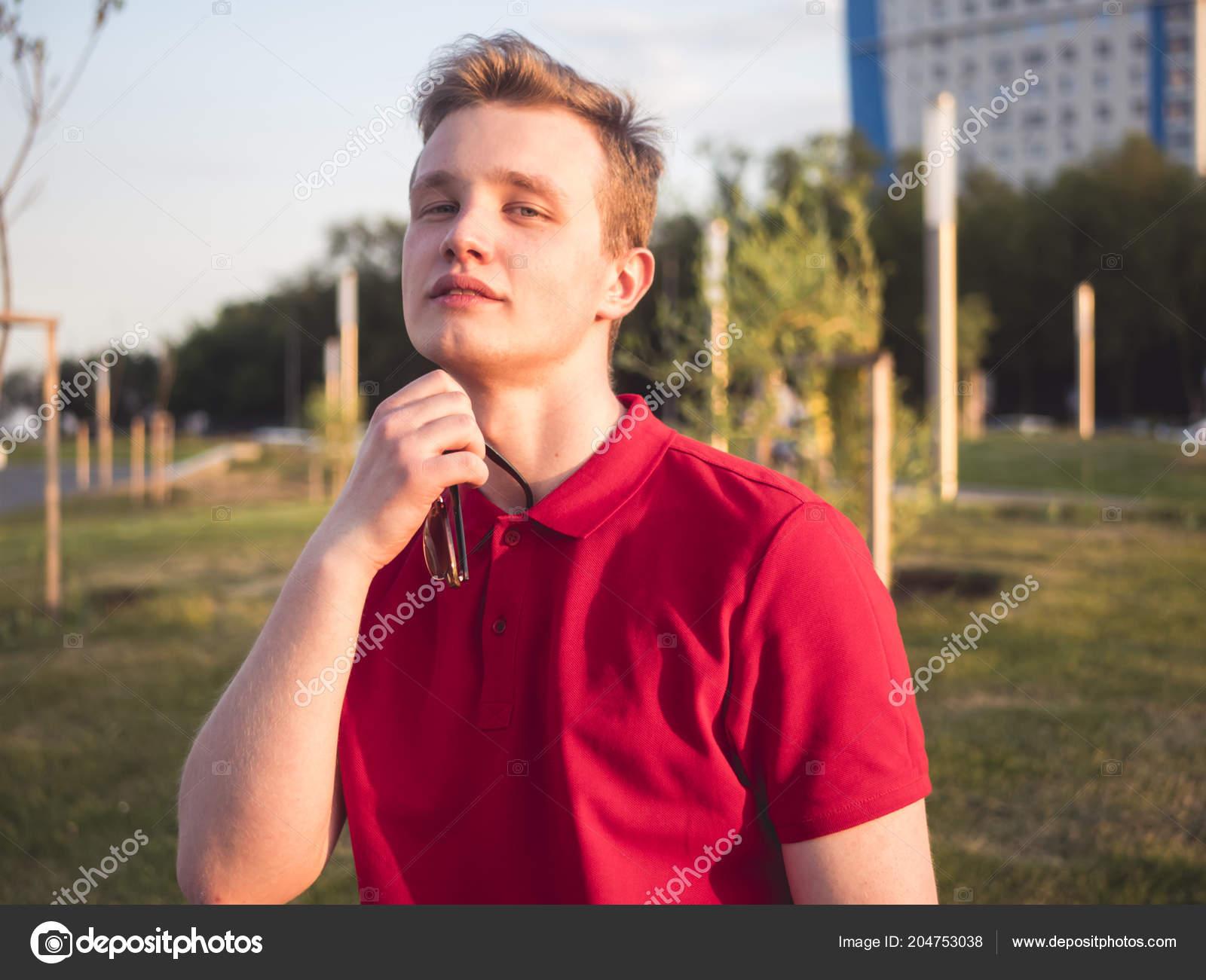 Cute guy in the street