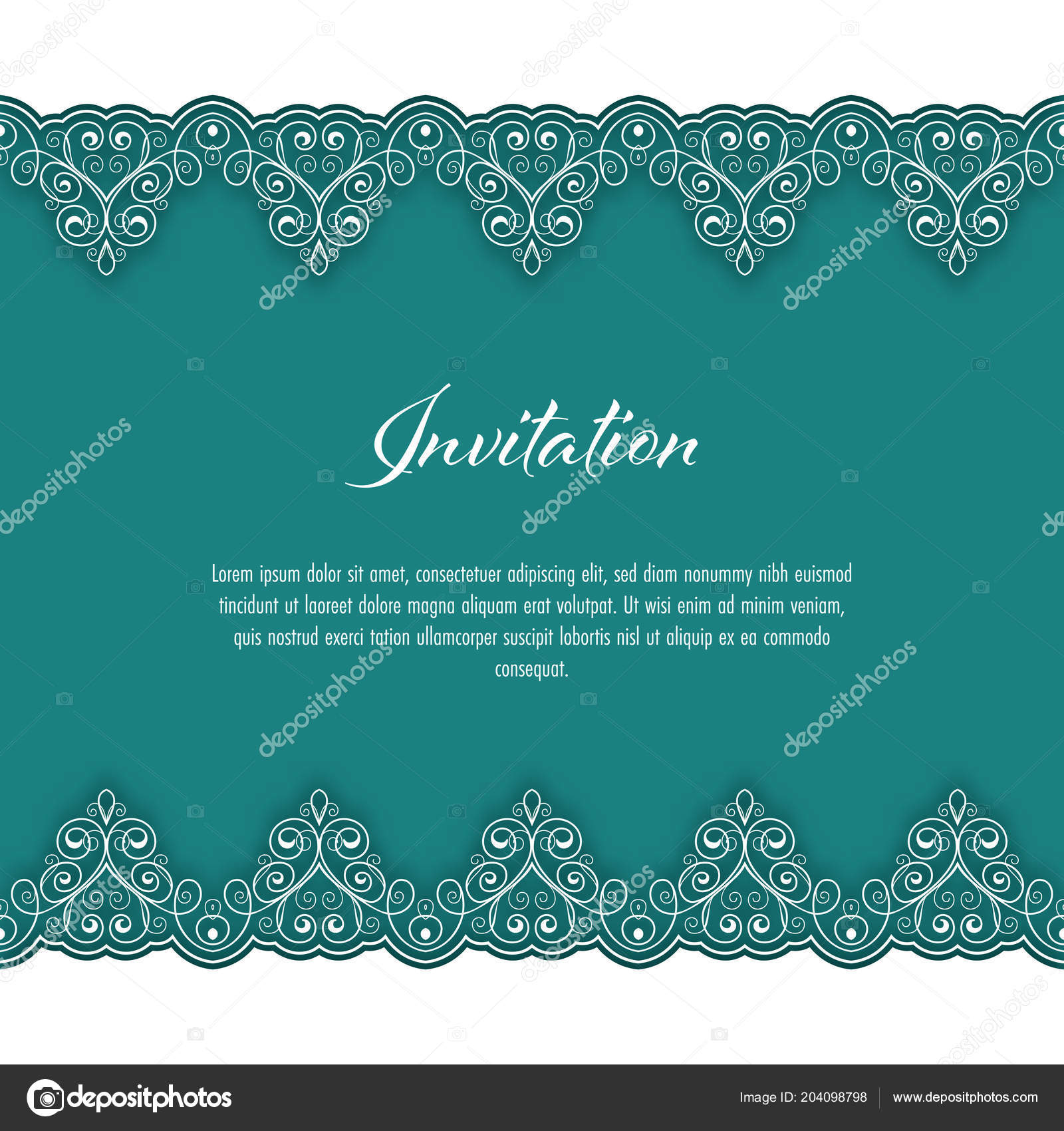 Vintage background lace border greeting card wedding invitation vintage background lace border greeting card wedding invitation vector illustration vetor de stock stopboris Images