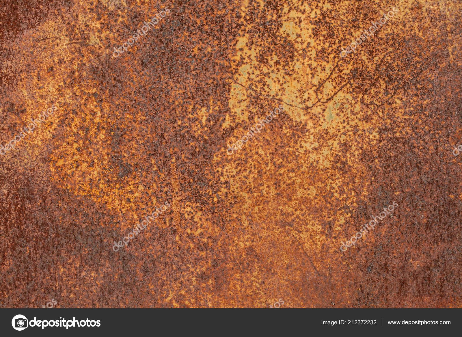Grunge Verrostet Metall Textur Rostige Korrosion Und Oxidierte
