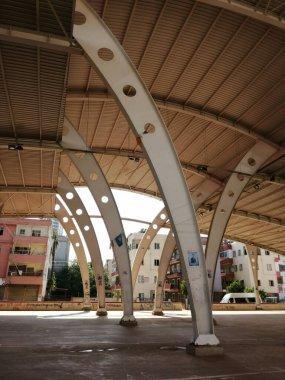 steel roof ,metal roof in construction site