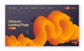 Černá a žlutá, průběh, pozadí abstraktní s tekutou pro vstupní stránky. Barevné digitální a pohybu vzor. Dynamické texturou pozadí s 3d element pro webové stránky, webové stránky.