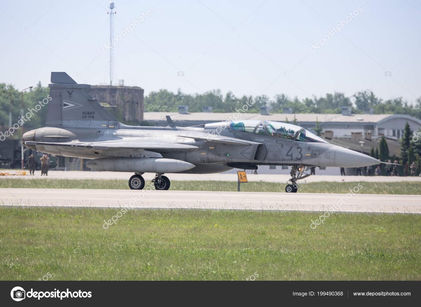 Poland Krzesiny 2018 Hungarian Air Force Jas Gripen Nato