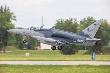 Czech Republic, Pardubice - 20.6.2018 Czech Air Force Aero L-159 Alca during the Sky Avenger Excercise 20.06.2018 in Pardubice, Czech Republic