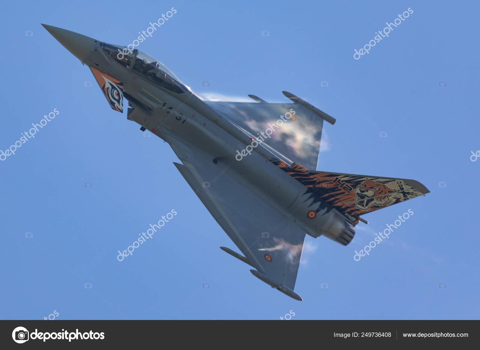 Czech Repubic Ostrava 2018 Eurofighter Typhoon Display Nato