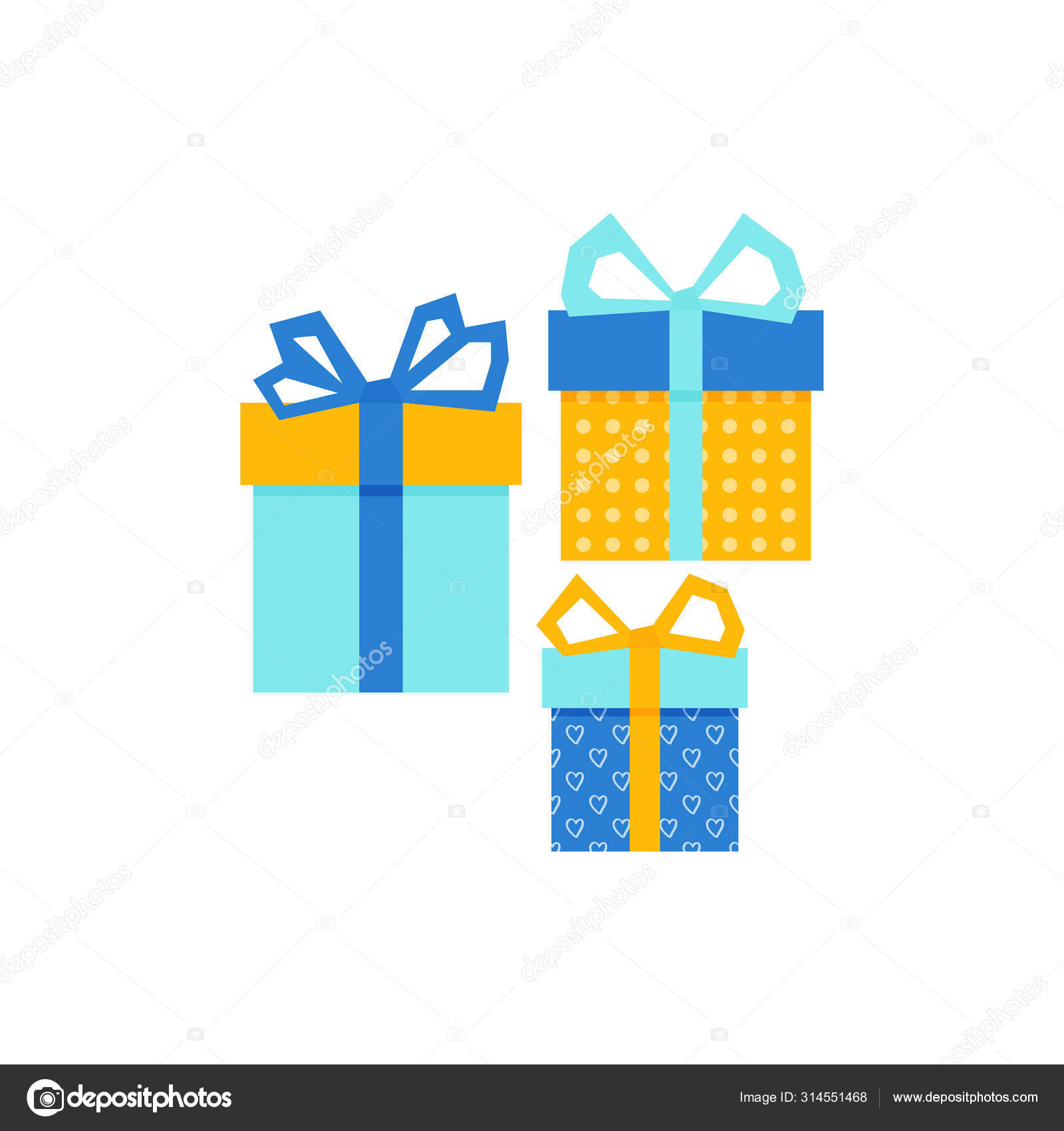 Set With Gift For Any Design Colorful Blank Cardboard Package Box Product Packaging White Background Surprise Symbol Gift Box Vector Design Template Holiday Background Christmas Vector Stock Vector C Julimurch 314551468