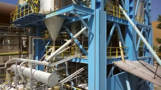 Gassuspendierungskalziner für die Produktion von Tonerde, Luftaufnahme