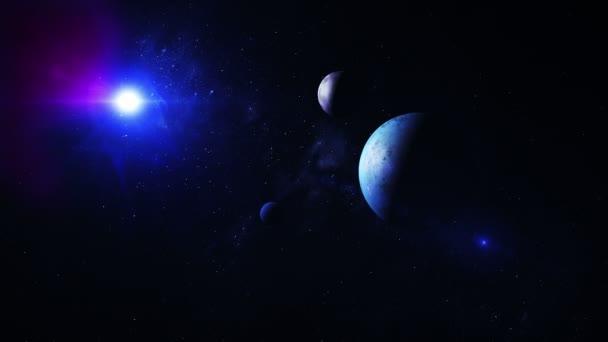 Vzdálená hvězda systém s cizí planety
