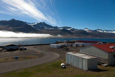 Fiyortküçük İzlanda kasaba