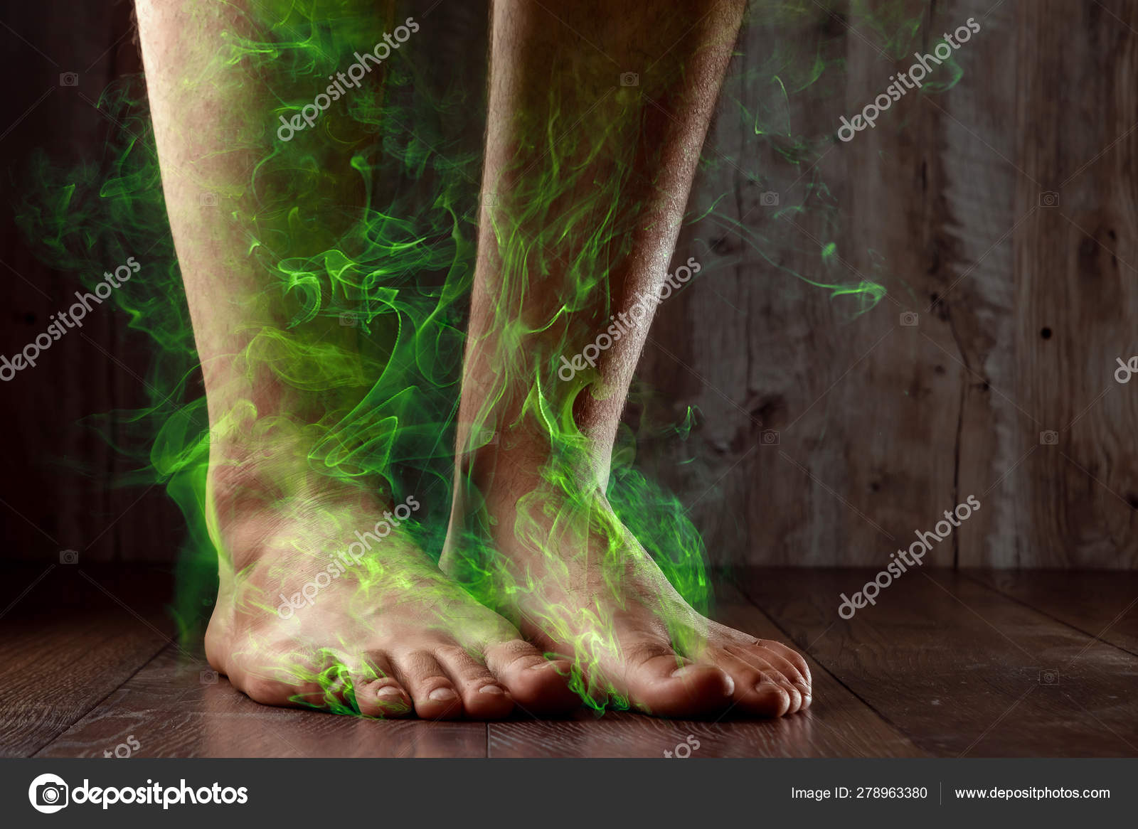 hongos en las piernas fotos