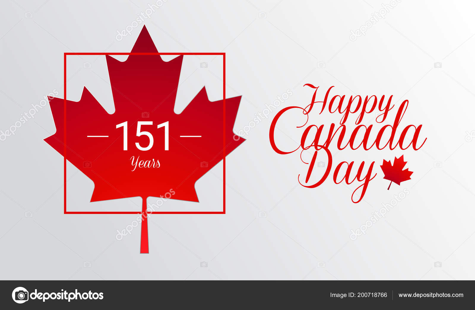 Happy canada day calligraphy greeting card canada maple leaf flag happy canada day calligraphy greeting card canada maple leaf flag stock vector m4hsunfo
