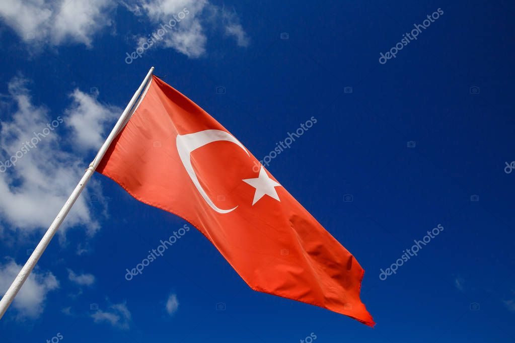 Flag of Turkey develops