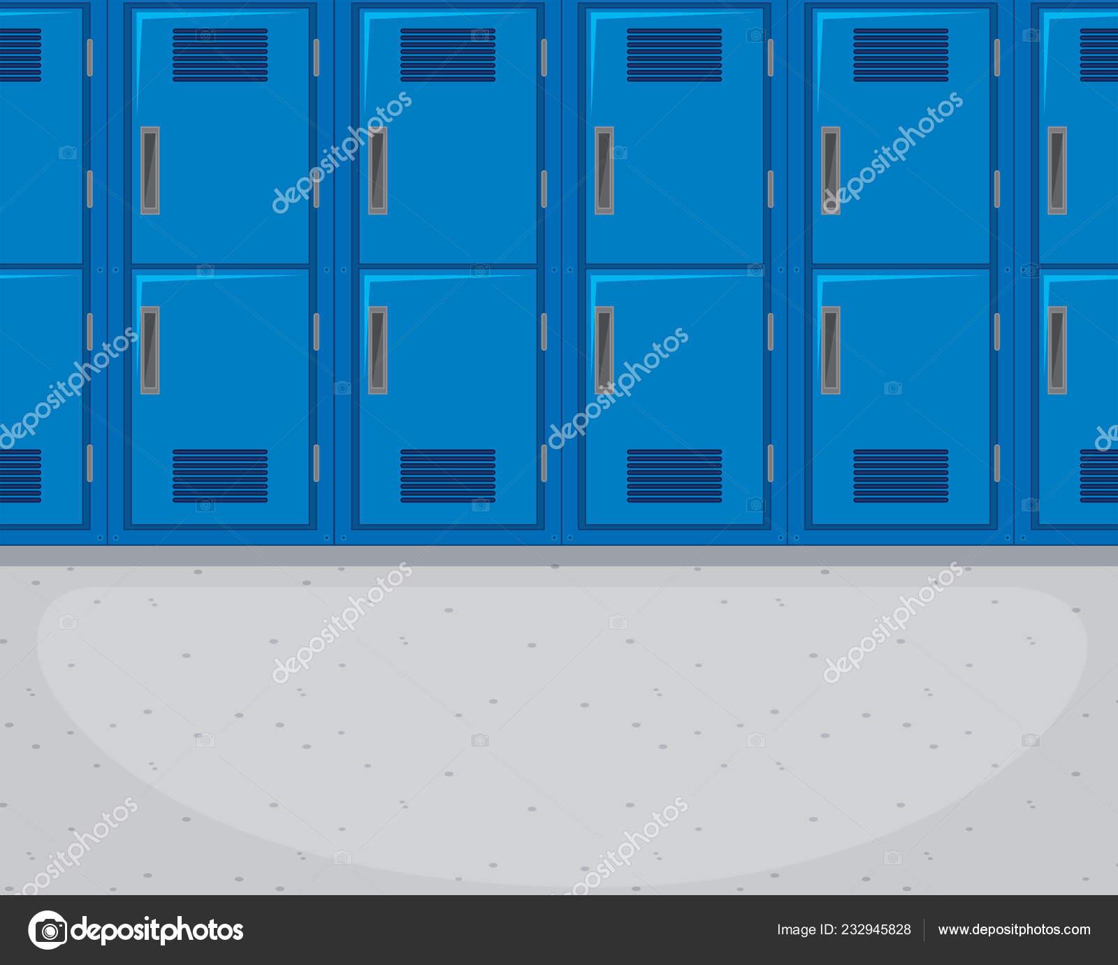 die leeren flur hintergrund illustration stockvektor