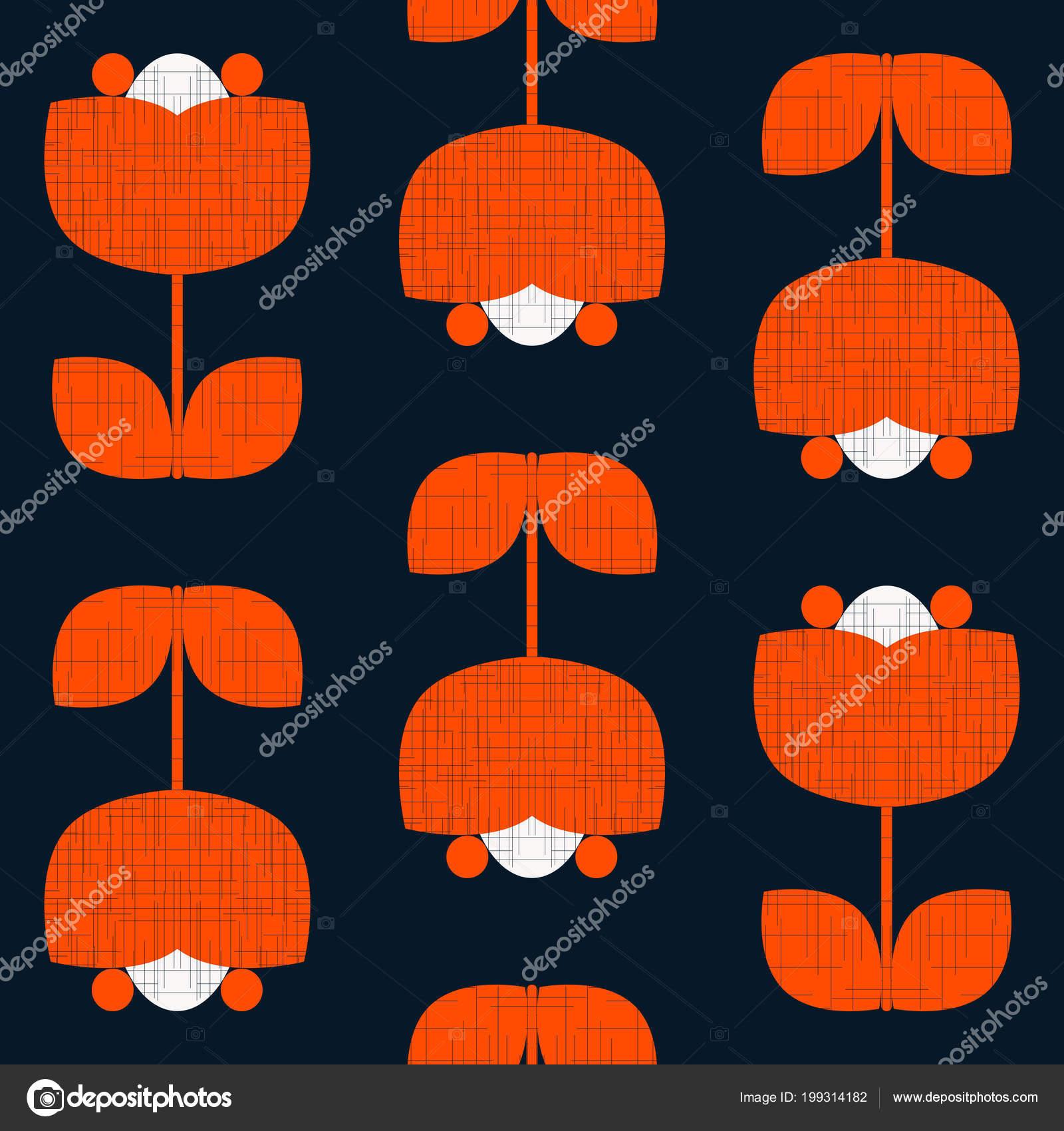 Vector Illustration Dessin Moderne Motif Géométrique Sans