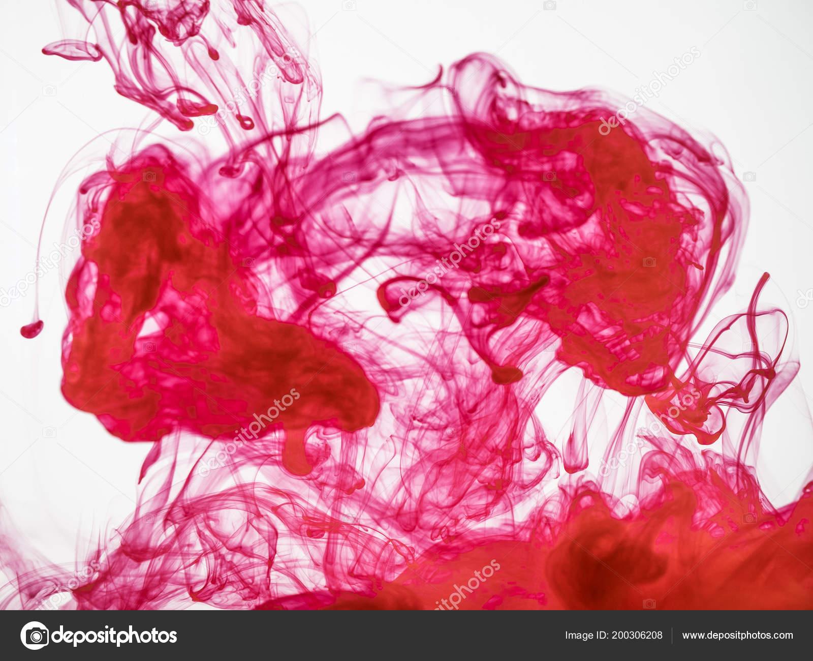 encre acrylique rouge m lange avec de l eau se bouchent. Black Bedroom Furniture Sets. Home Design Ideas