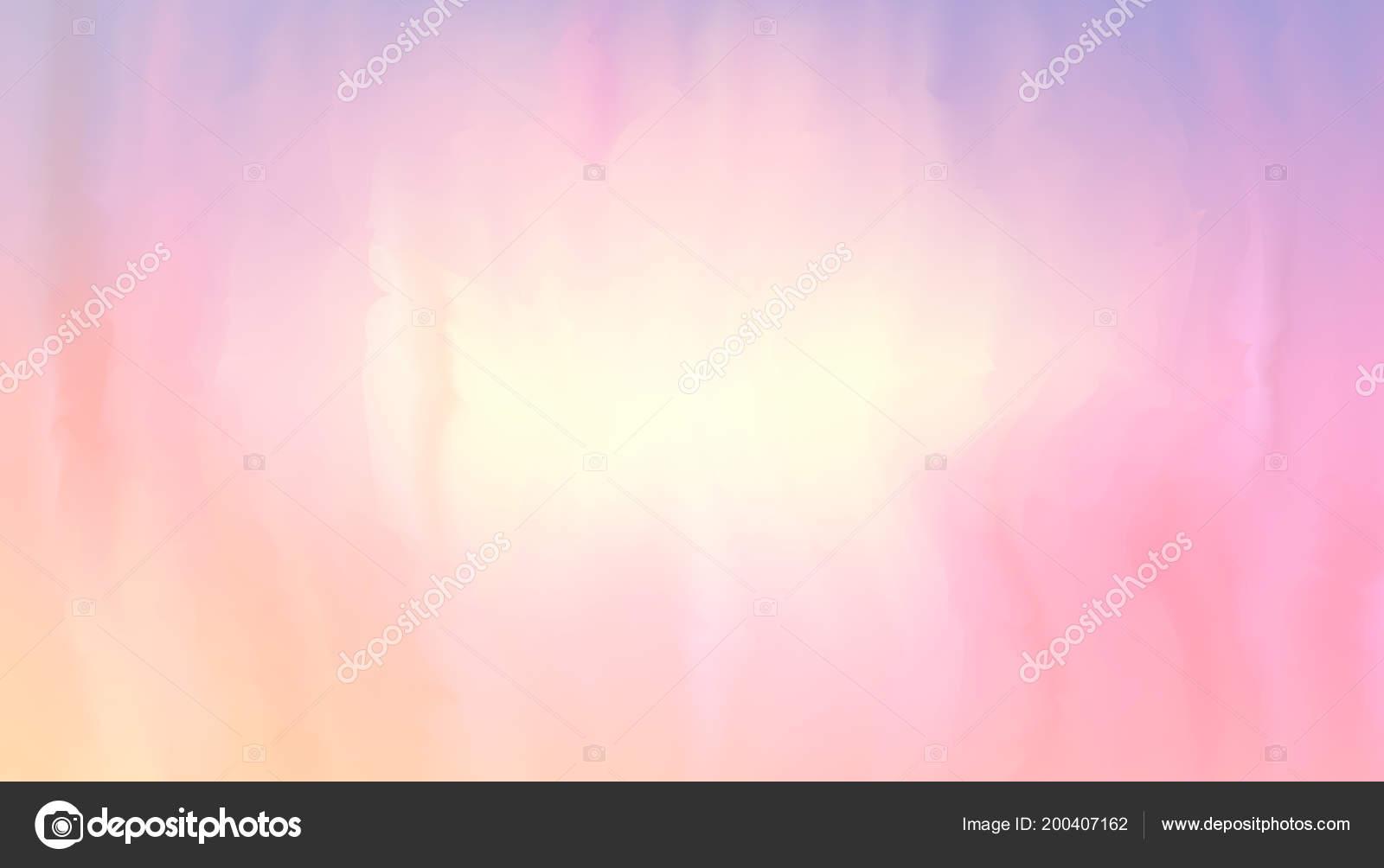 Colore Rosa E Pesca Di Vernice Miscelati Su Superficie Bagnata