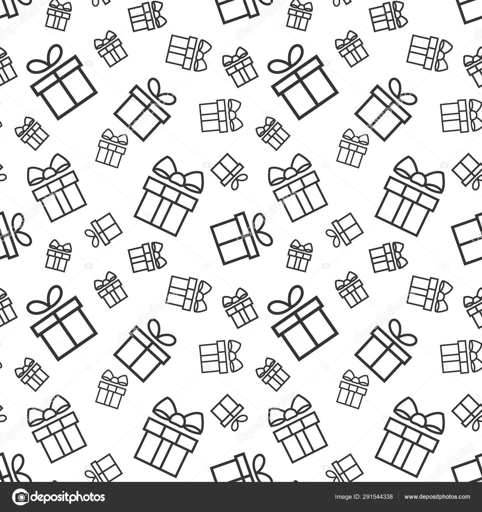 Gift Boxes Seamless Pattern Seamless Pattern With Gifts Present Vector Background Stock Vector C Aygunaliyeva 291544338