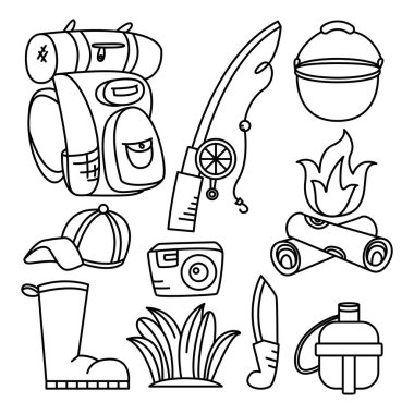 Download Fishing Boot Theme Elements Free Vector Eps Cdr Ai Svg Vector Illustration Graphic Art