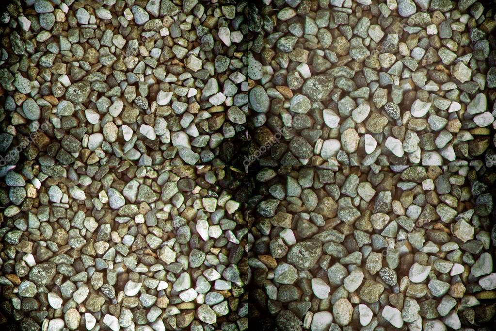 Stone texture, rock surface level, pebble background for web site or mobile devices