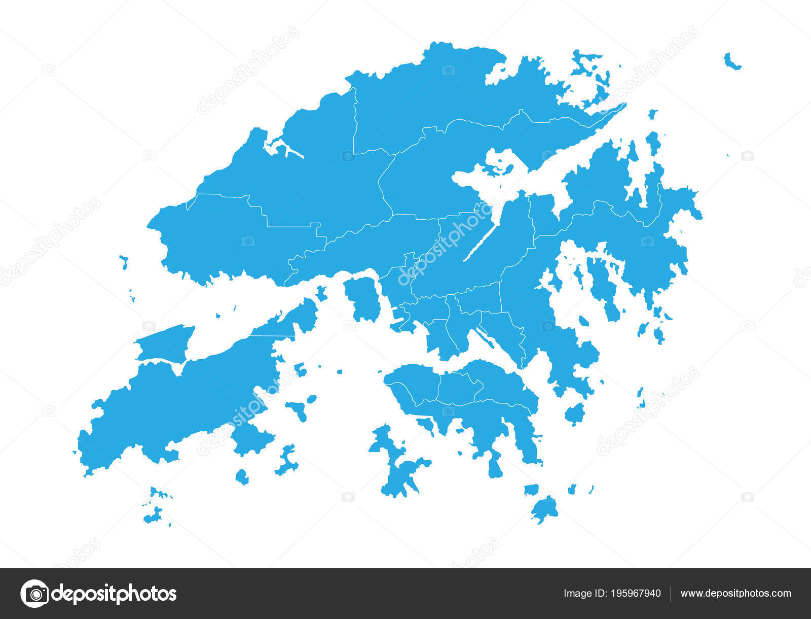 Hong Kong Maps Attractions Streets Roads And Transport Map