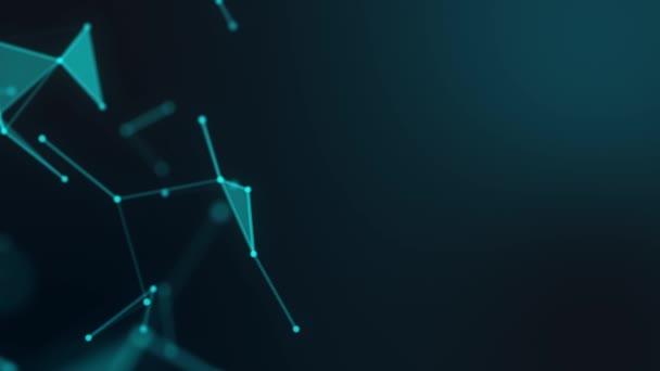 big data cyber network cloud background rendering, plexus 3d social network visualisations