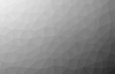 Polygonal shapes background, low poly triangles mosaic, black cr