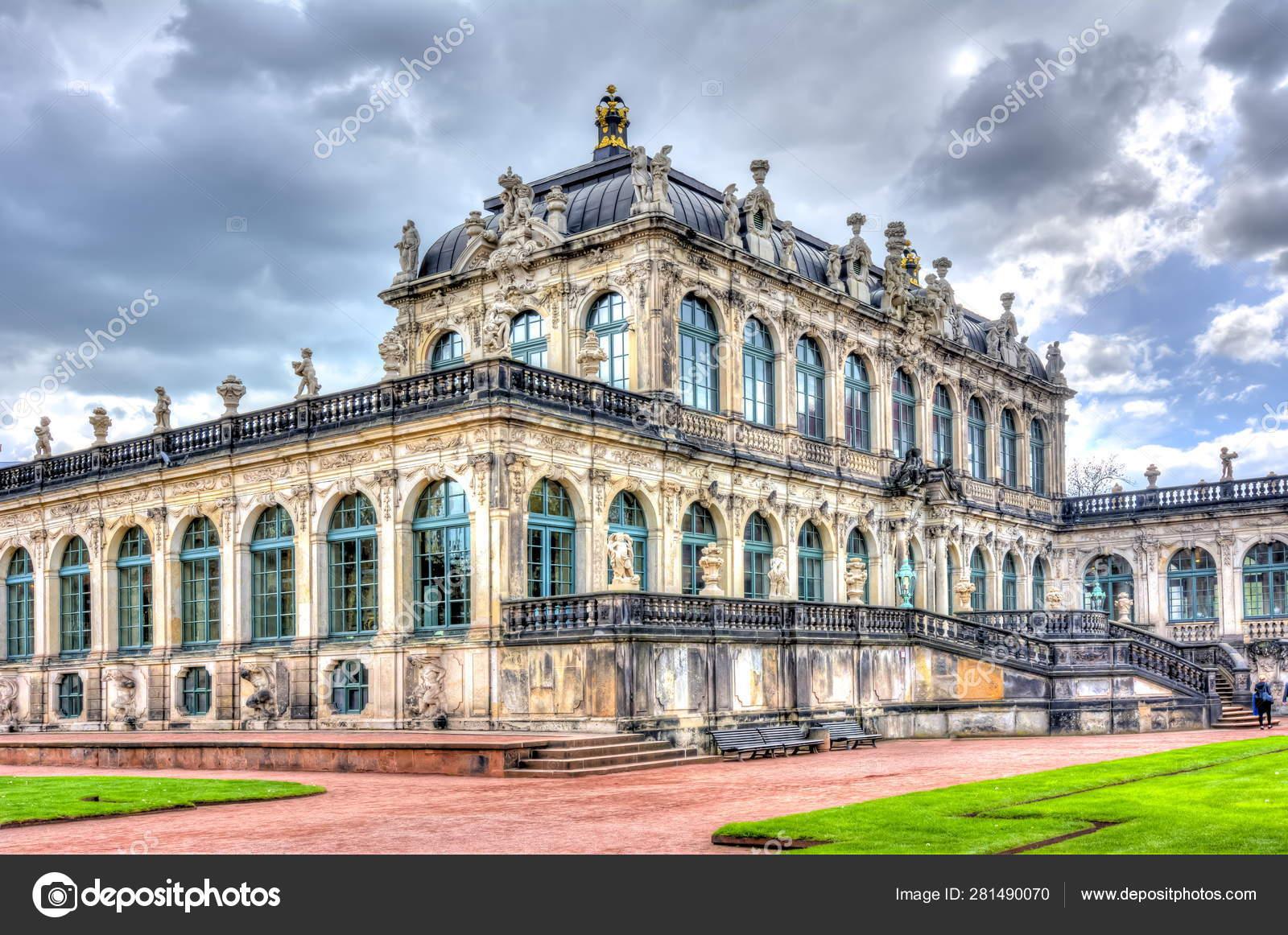 Dresden Gallery Zwinger Complex Dresden Germany Stock Editorial Photo C Mistervlad 281490070