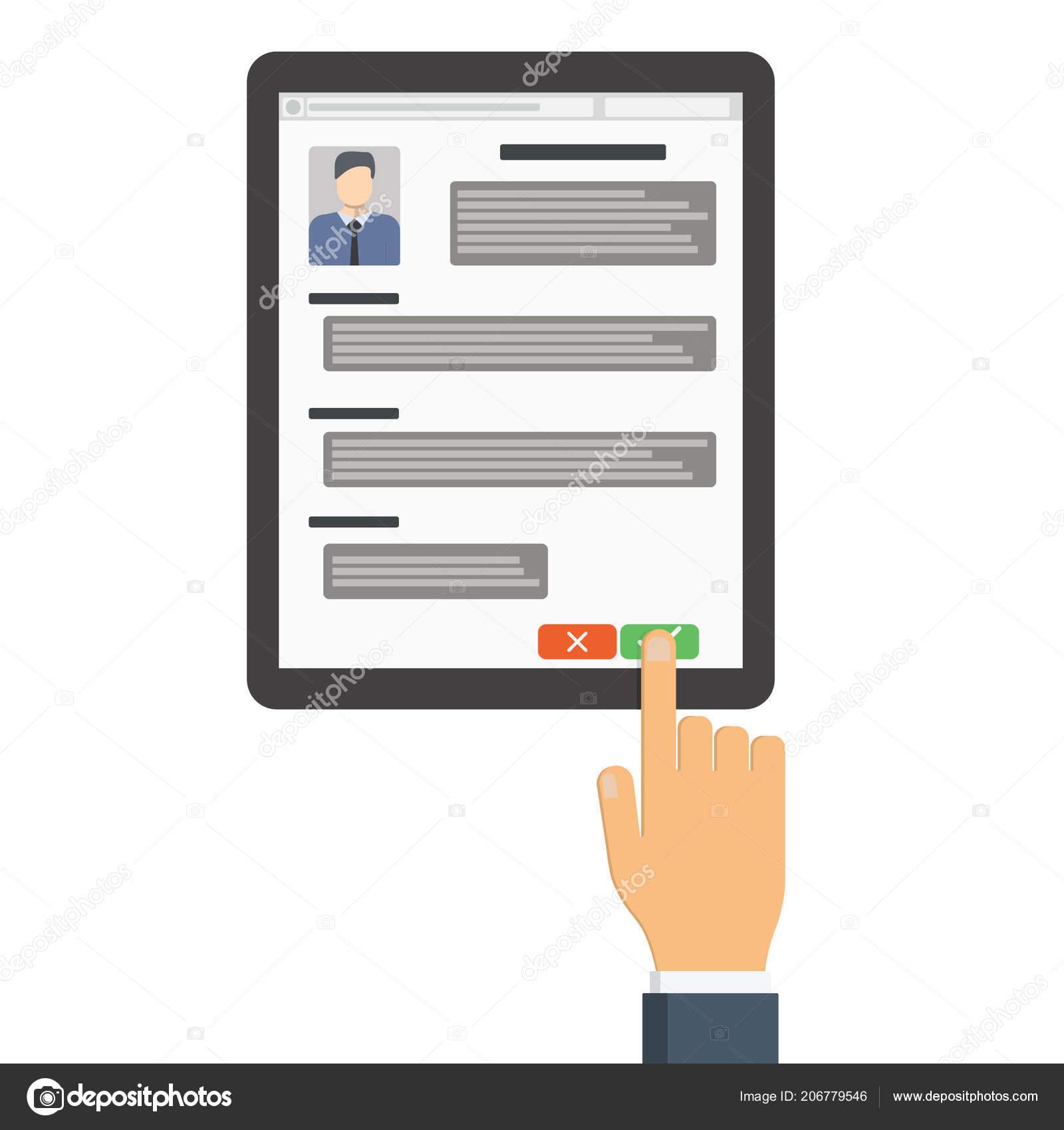 Autorizados Para Trabajar Empleador Tableta Que Busca Reanudar ...