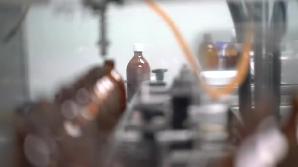 Picture of manufacture of pills and encapsulation.