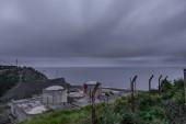 Photo Long exposure nuclear plant in Lemoniz, Vizcaya