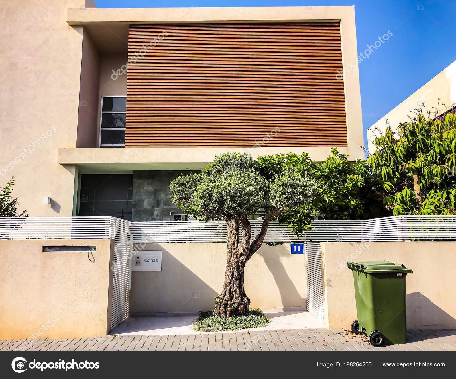Rishon Le Zion Israel 30 April 2018 Private Moderne Hauser Auf