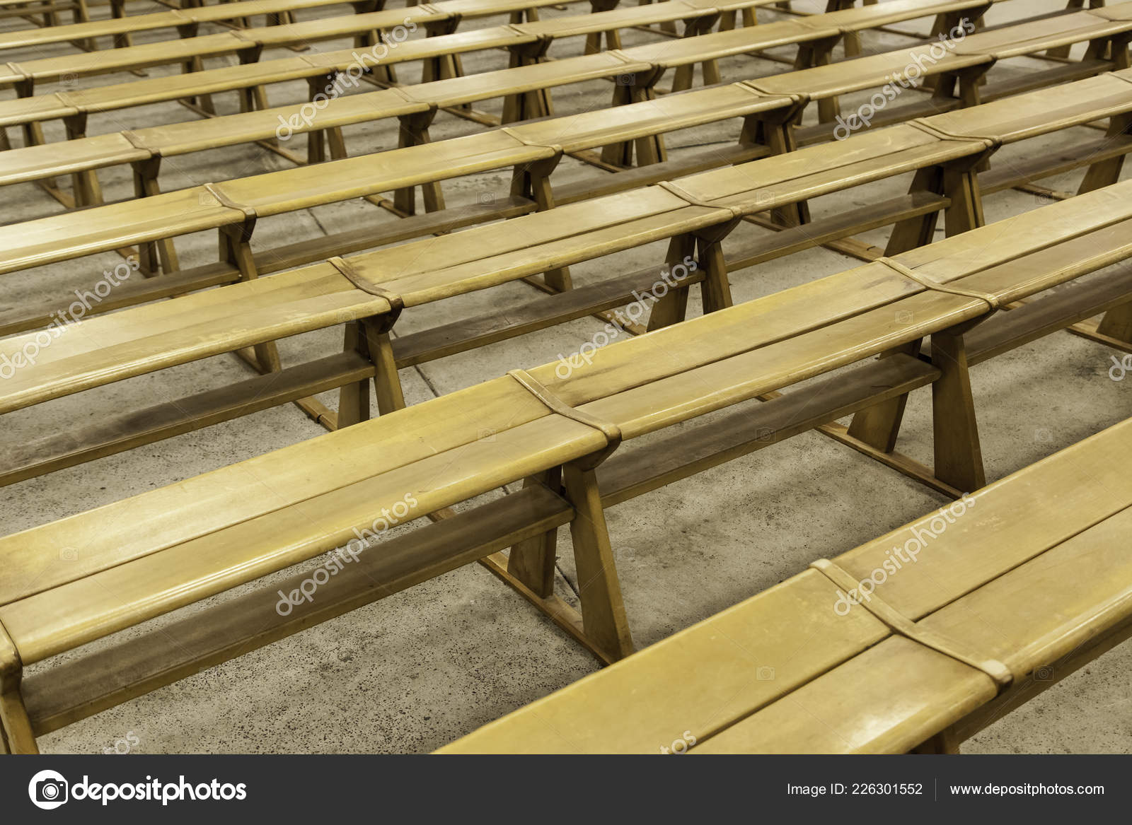 Fantastic Old Wooden Benches Church Detail Place Sit Pray Stock Camellatalisay Diy Chair Ideas Camellatalisaycom