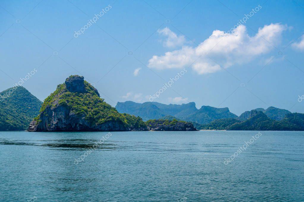 Koh Wua Talah, Mu Ko Ang Thong National Park, Gulf of Thailand, Siam,