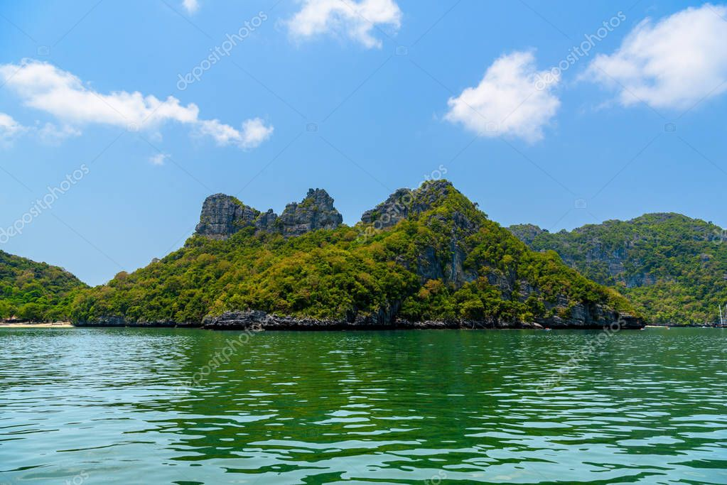 Koh Phaluai, Mu Ko Ang Thong National Park, Gulf of Thailand, Siam,
