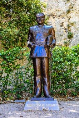 Monument of prince Rainier 3, Fontvielle, Monte-Carlo, Monaco, C