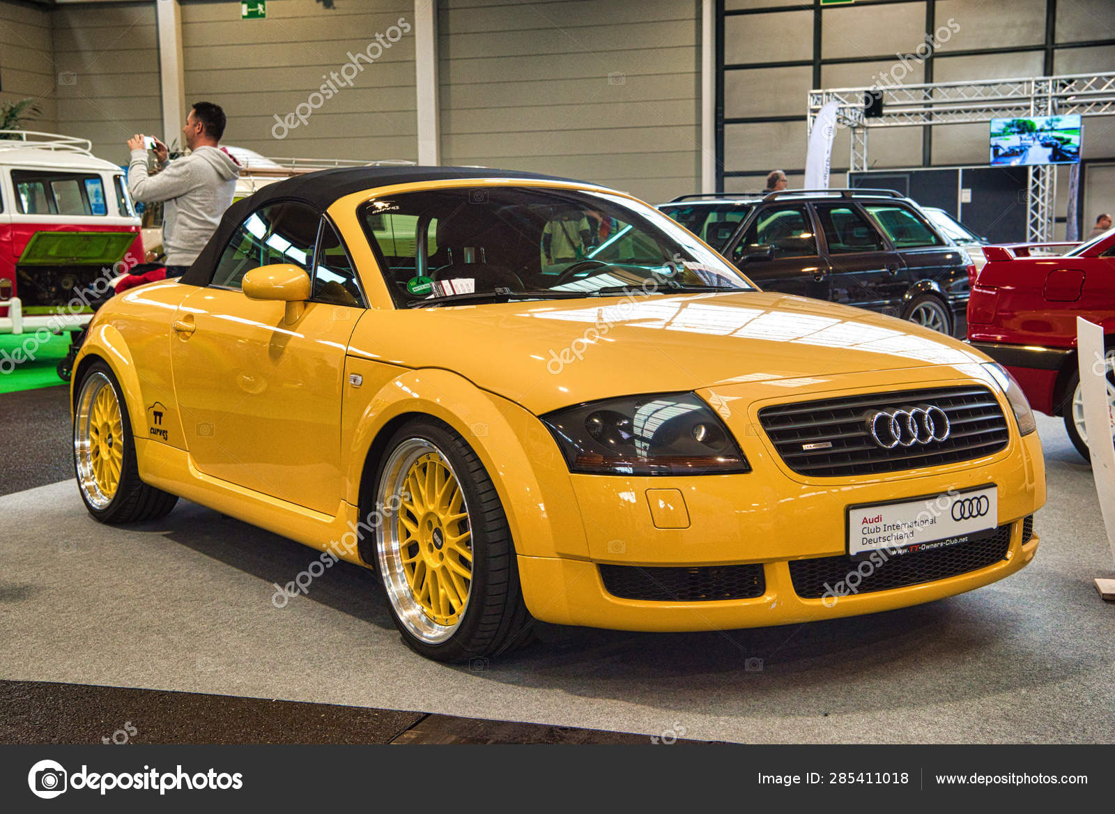 Friedrichshafen May 2019 Yellow Audi Tt Quattro Roadster Type 8n 1998 Sedan At Motorworld Classics Bodensee On May 11 2019 In Friedrichshafen Germany Stock Editorial Photo C Eagle2308 285411018