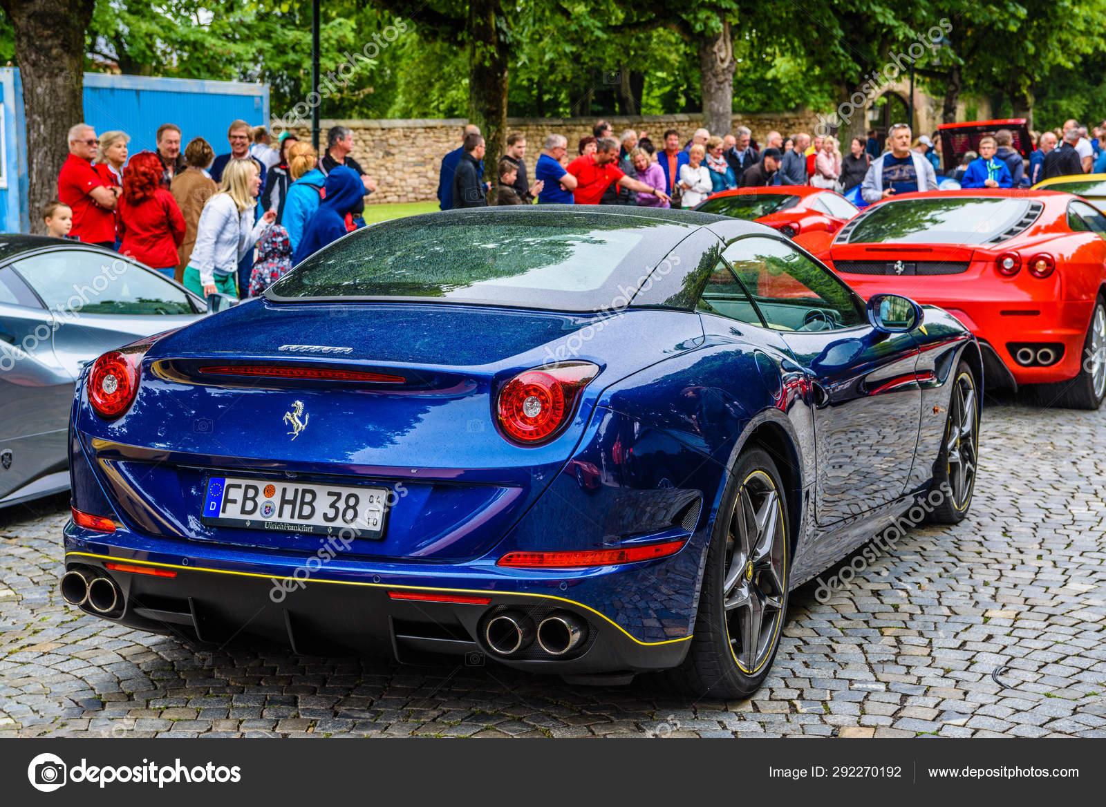 Germany Fulda Jul 2019 Dark Blue Ferrari California Type F14 Stock Editorial Photo Eagle2308 292270192