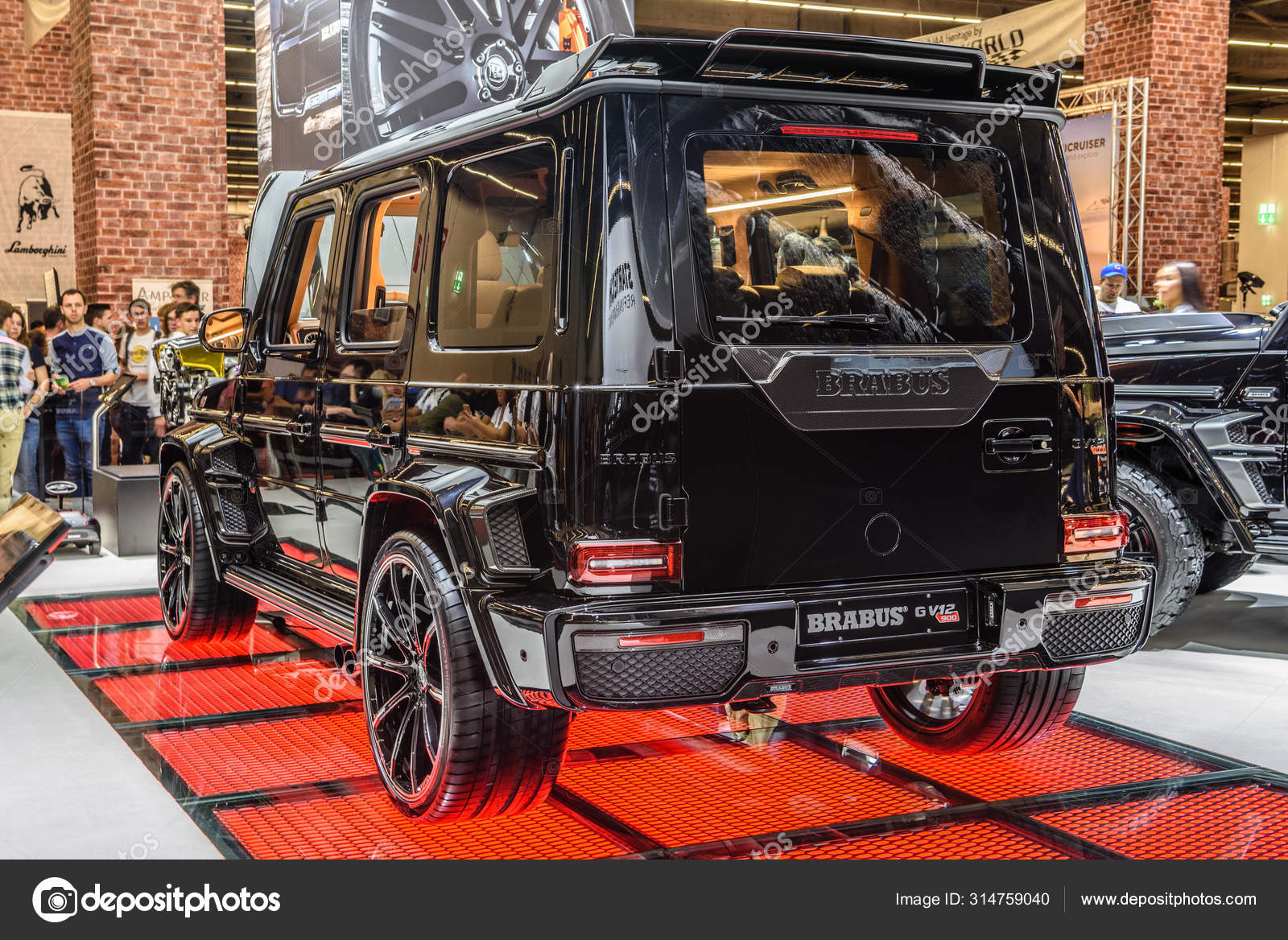Frankfurt Alemanha Sept 2019 Black Mercedes Benz G Class Brabus 850 Widestar W463 Suv Iaa International Motor Show Auto Exhibtion Fotografia De Stock Editorial C Eagle2308 314759040